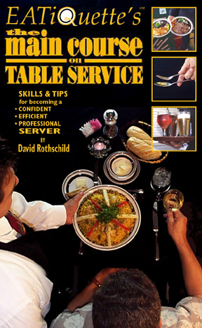 The Main Course on Table Service